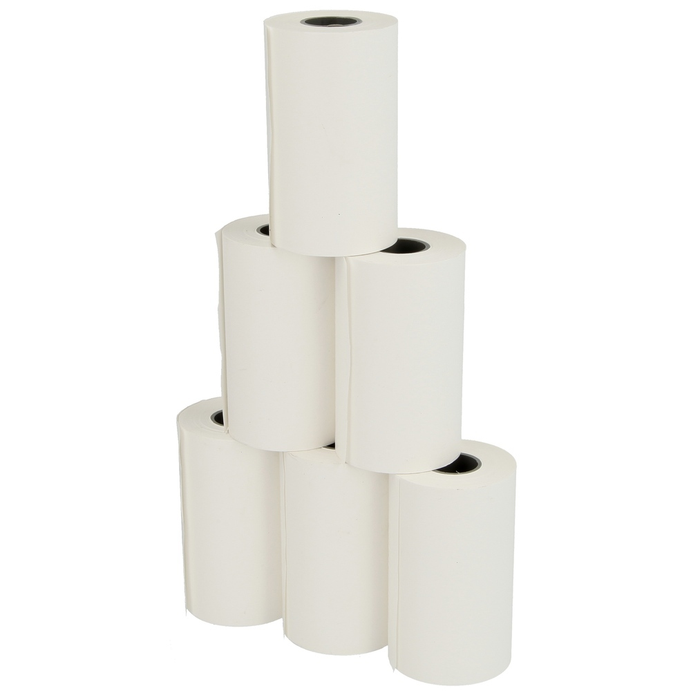 Pack of 6 thermal printer rolls