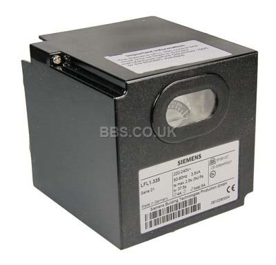 SIEMENS LFL1.335 CONTROL BOX 220v - 240v