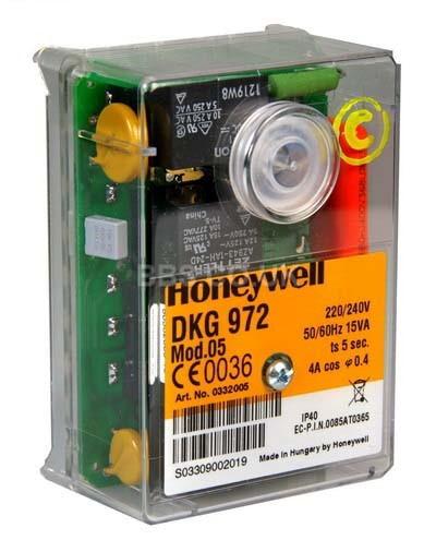 HONEYWELL SATRONIC CONTROL BOX DKG972 MOD 5 230V 50HZ