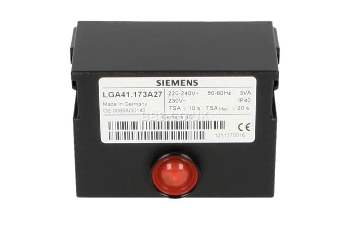 SIEMENS CONTROL BOX LGA41.173A27 WITHOUT BASE