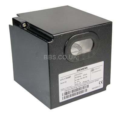 SIEMENS CONTROL BOX LFL1.333E 230V GAS CONTRO