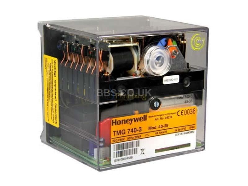 HONEYWELL SATRONIC CONTROL BOX TMG 740-3 MOD 43-35 230V