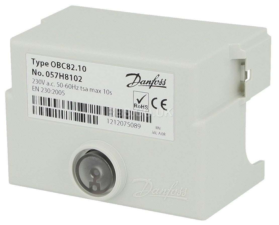 DANFOSS CONTROL BOX OBC82.10 057H8102  (WAS B