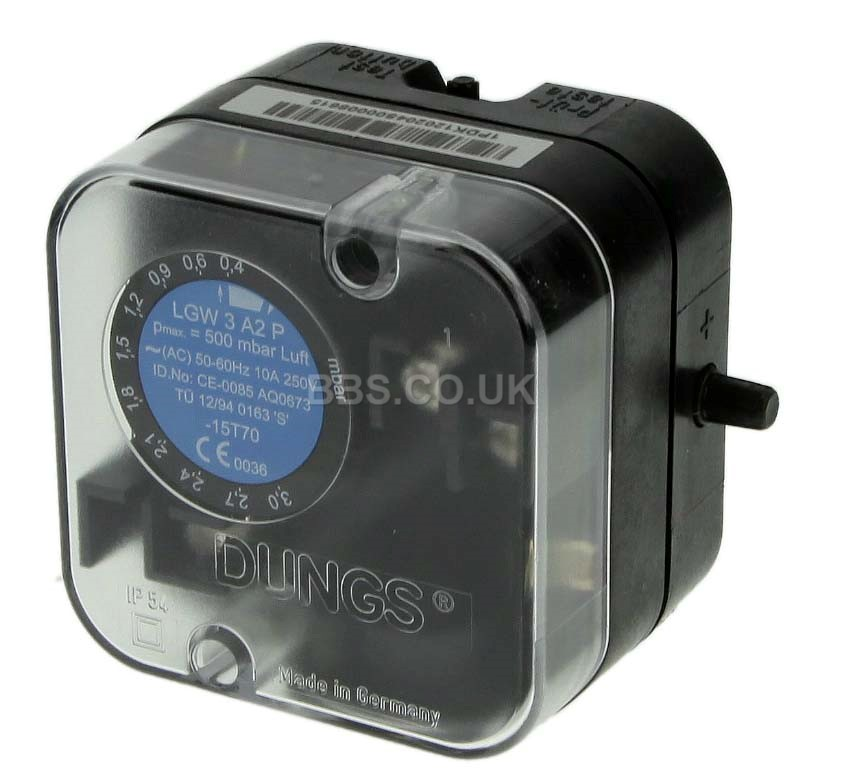 DUNGS PRESSURE SWITCH  LGW 3 A2P