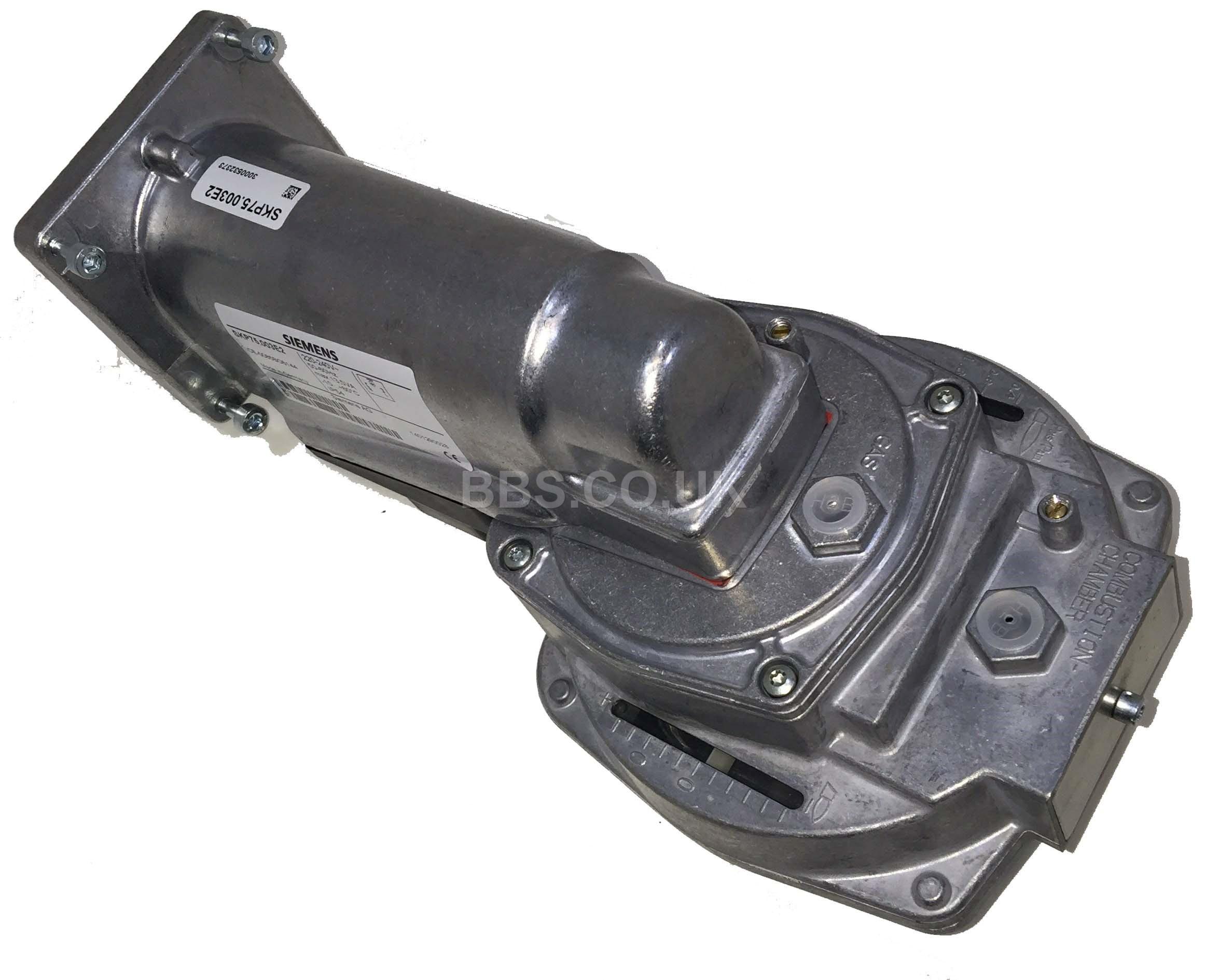 SIEMENS GAS VALVE ACTUATOR SKP75.003E2 220-240V