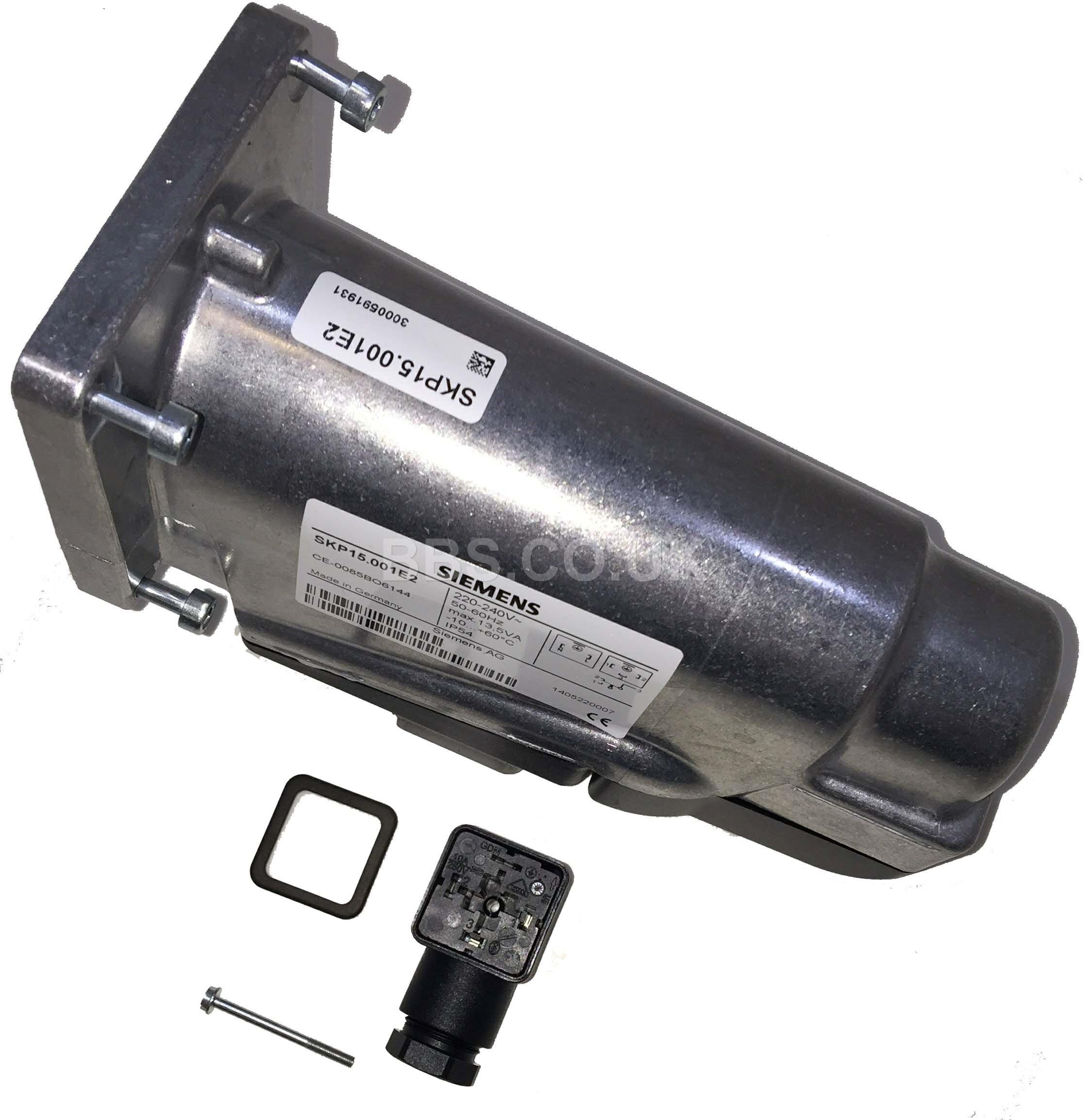 SIEMENS GAS VALVE ACTUATOR SKP15.001E2 220-240V
