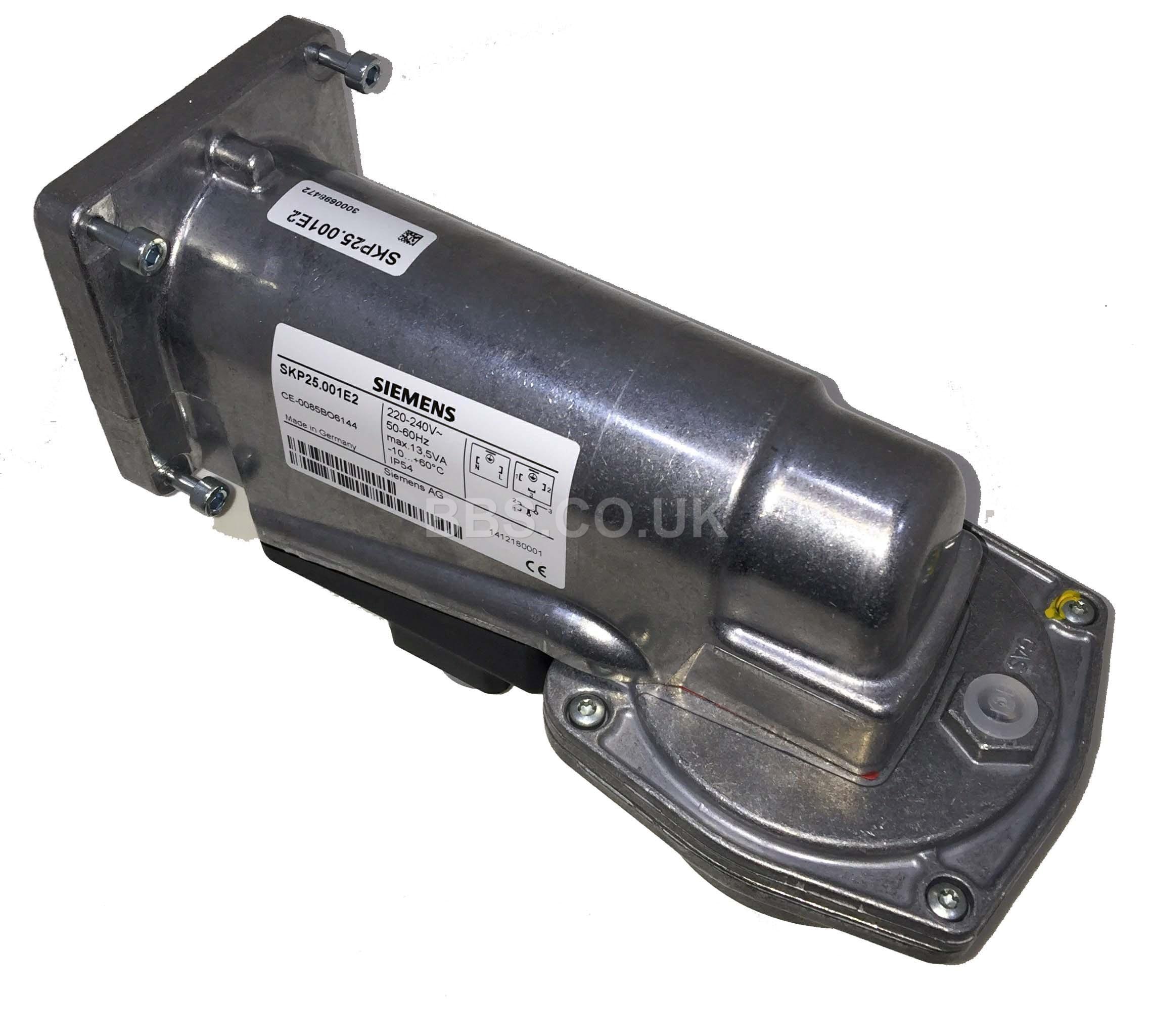 SIEMENS GAS VALVE ACTUATOR SKP25.001E2 220-240V