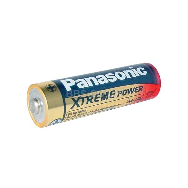 Panasonic Alkaline Batteries 4 x AA (LR6) 1.5