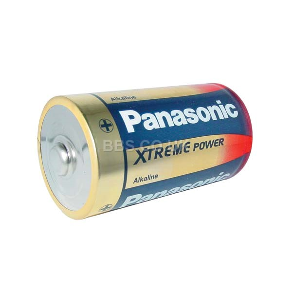 Panasonic Alkaline Batteries 2 x D (LR20) 1.5