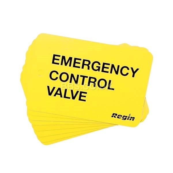 Emergency Control Valve Plate (8)