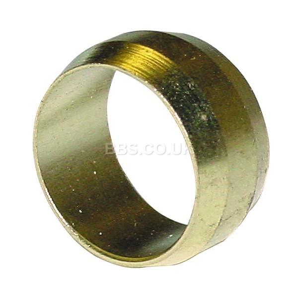 Brass Olives - 10mm (5)