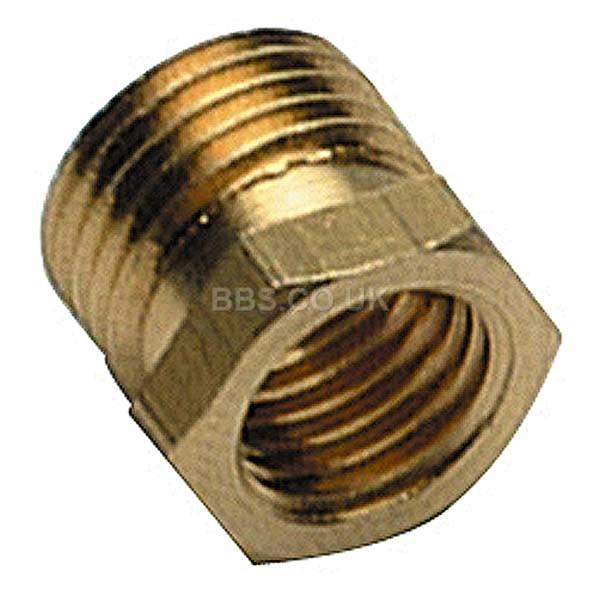 T/Couple Adaptor Nut - M8 x M10 (2)