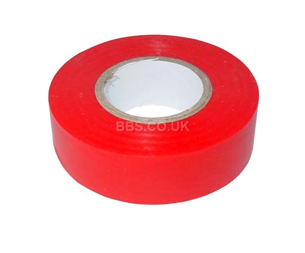 PVC Insulation Tape 20m - Red