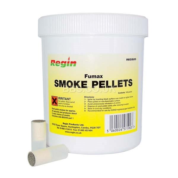 Fumax Single Smoke Pellets (tub of 100)