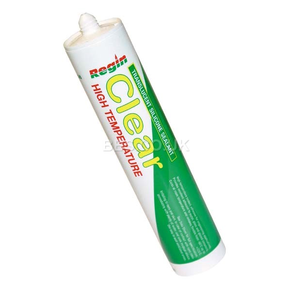 High Temp. Silicone Sealant Clear - 310ml