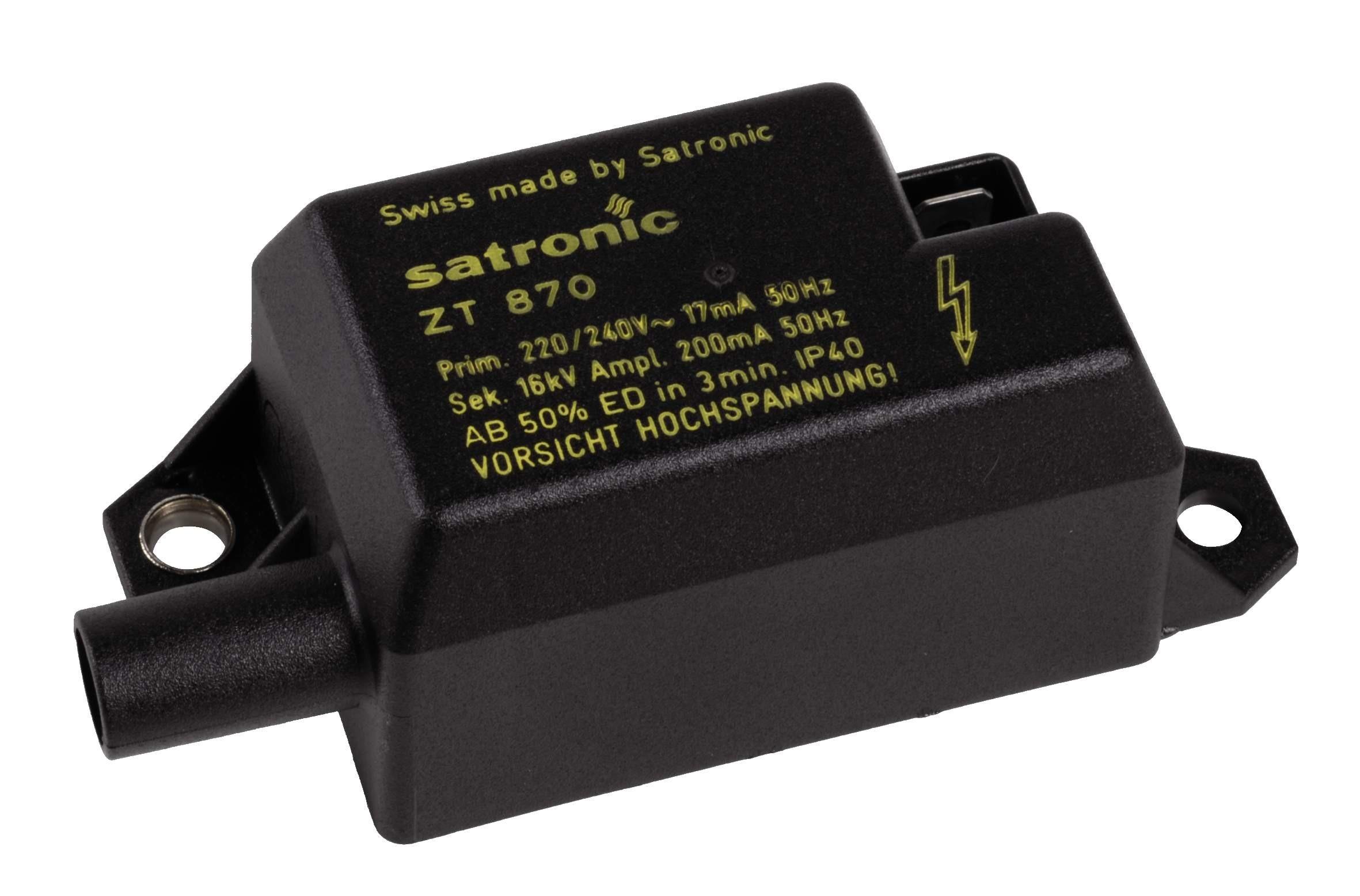 HONEYWELL SATRONIC ZT870 TRANSFORMER 230V